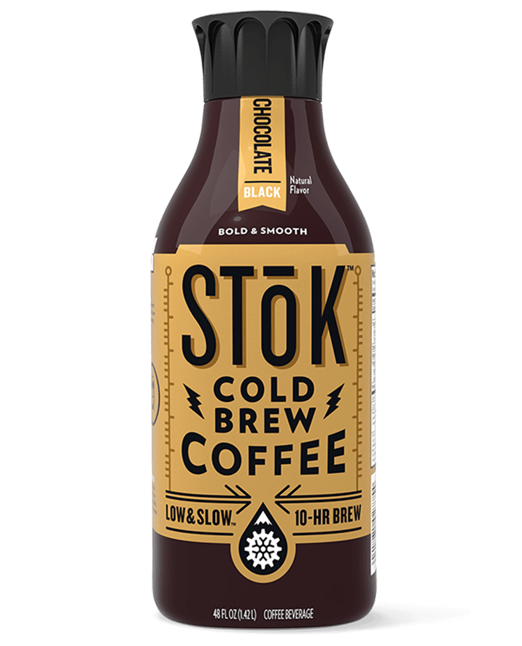 STōK Chocolate Black Cold Brew Coffee 48 oz.