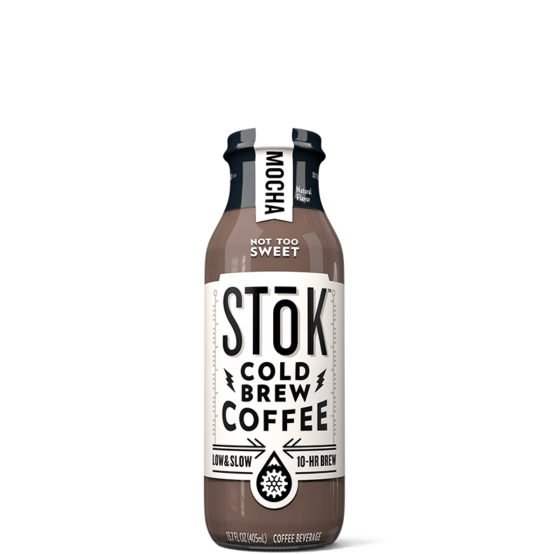 STōK Mocha Creamed Cold Brew Coffee 13.7 oz.