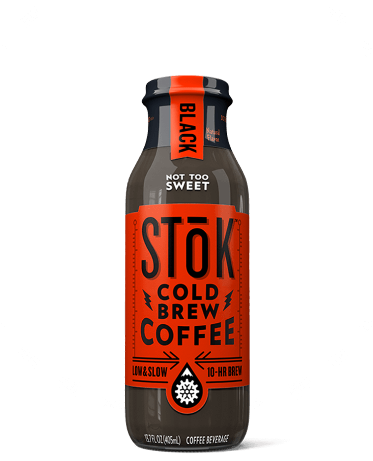 STōK Not Too Sweet Black Cold Brew Coffee 13.7 oz.