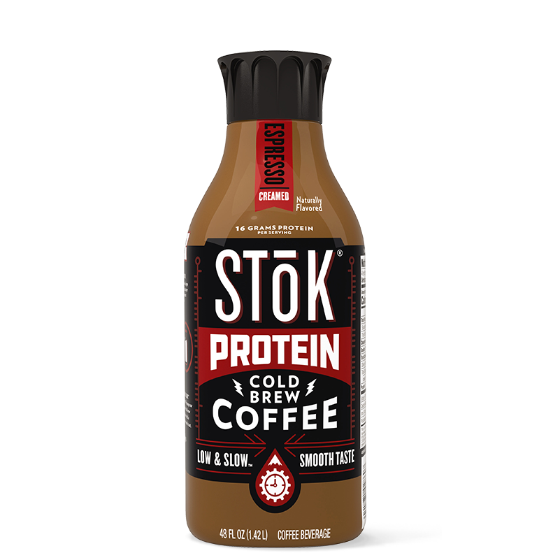 STōK Protein Espresso Creamed Cold Brew Coffee 48 oz.