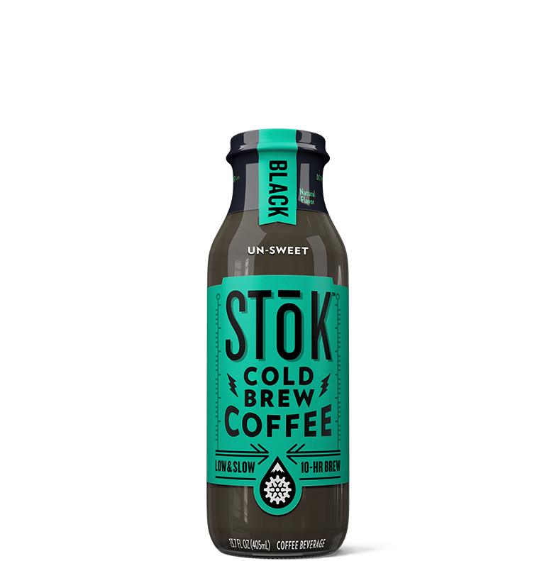 STōK Unsweet Black Cold Brew Coffee 13.7 oz.