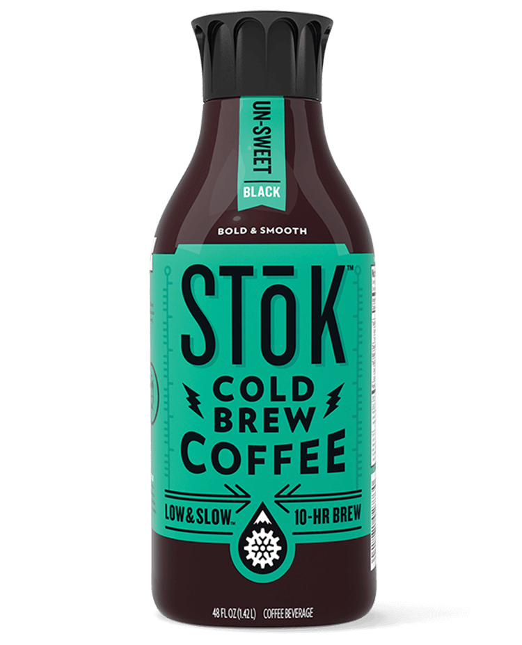 Stōk Unsweetened Black Cold Brew Coffee