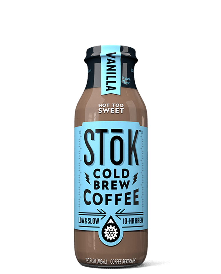 Stōk Vanilla Creamed Cold Brew Coffee
