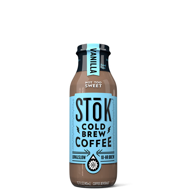 STōK Vanilla Creamed Cold Brew Coffee 13.7 oz.