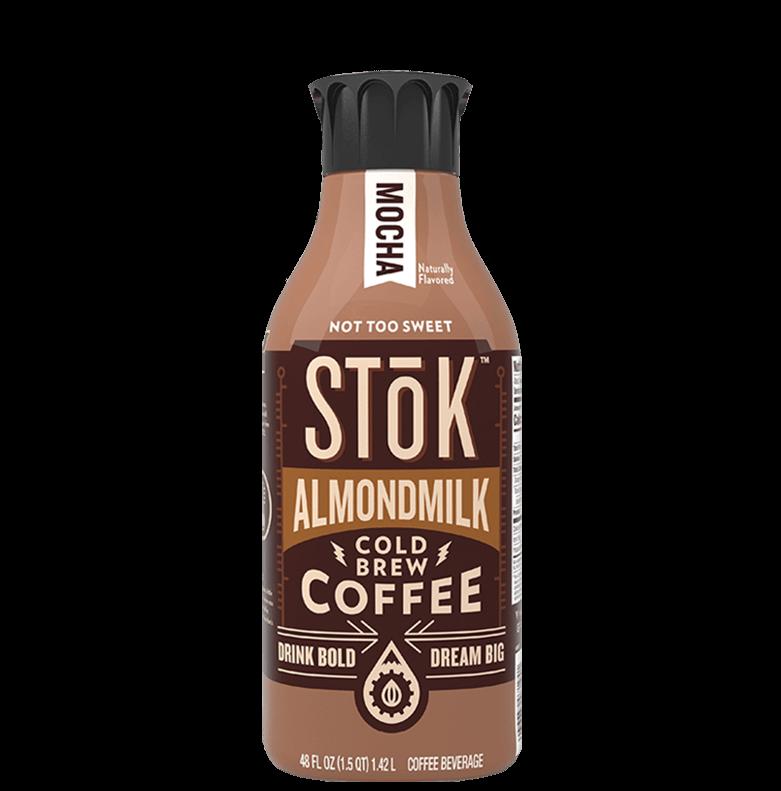 STōK Almondmilk Mocha Cold Brew Coffee
