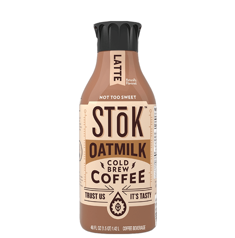 STōK Oatmilk Latte Cold Brew Coffee