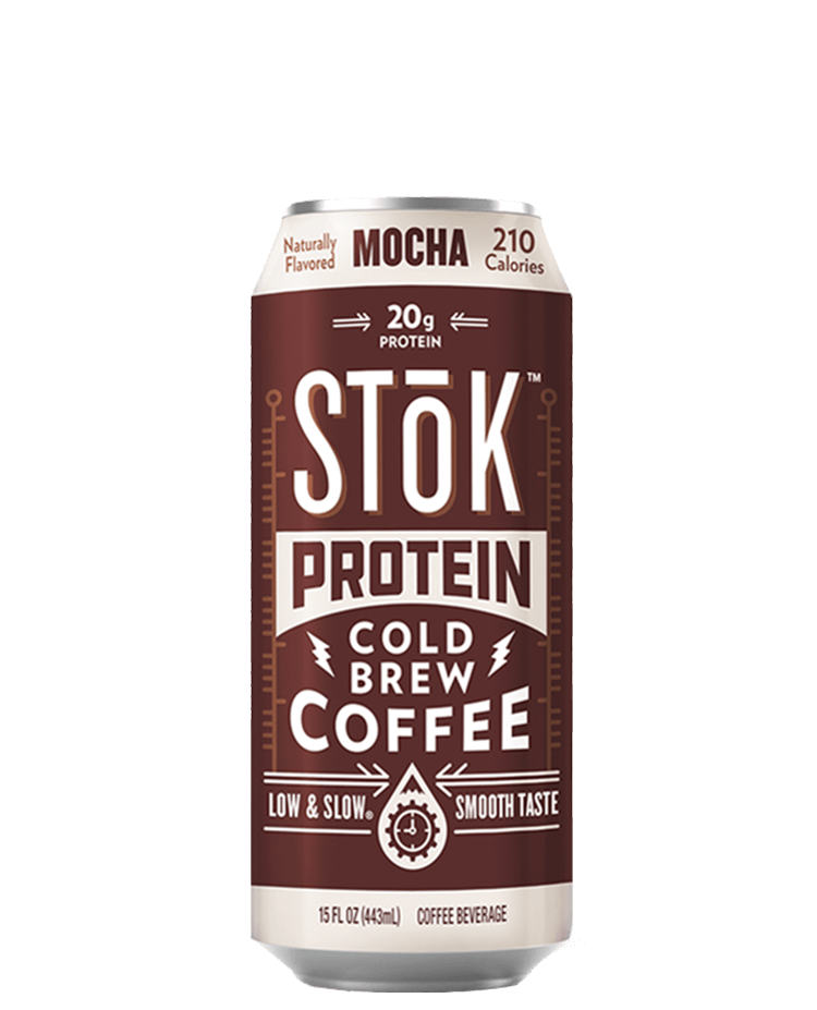 STōK Protein Mocha Canned Cold Brew Coffee