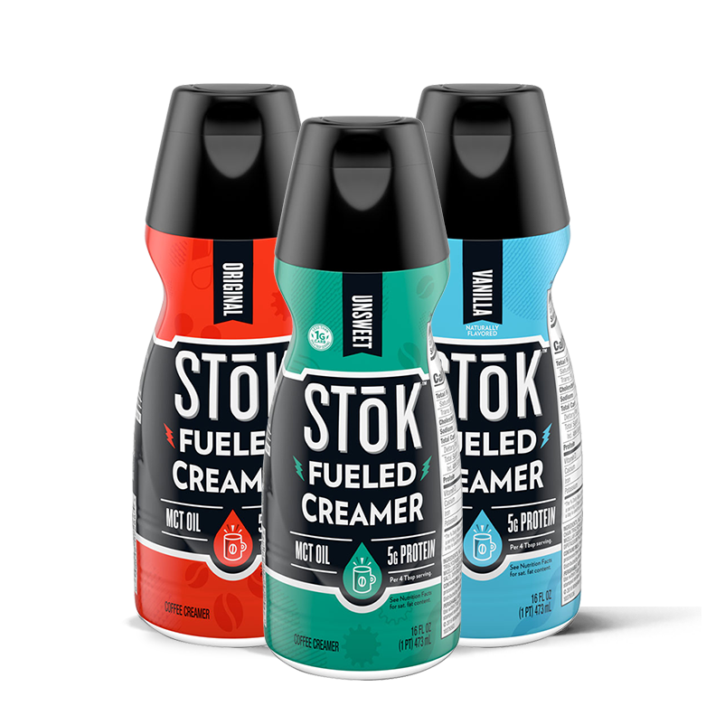Stok fueled creamer category