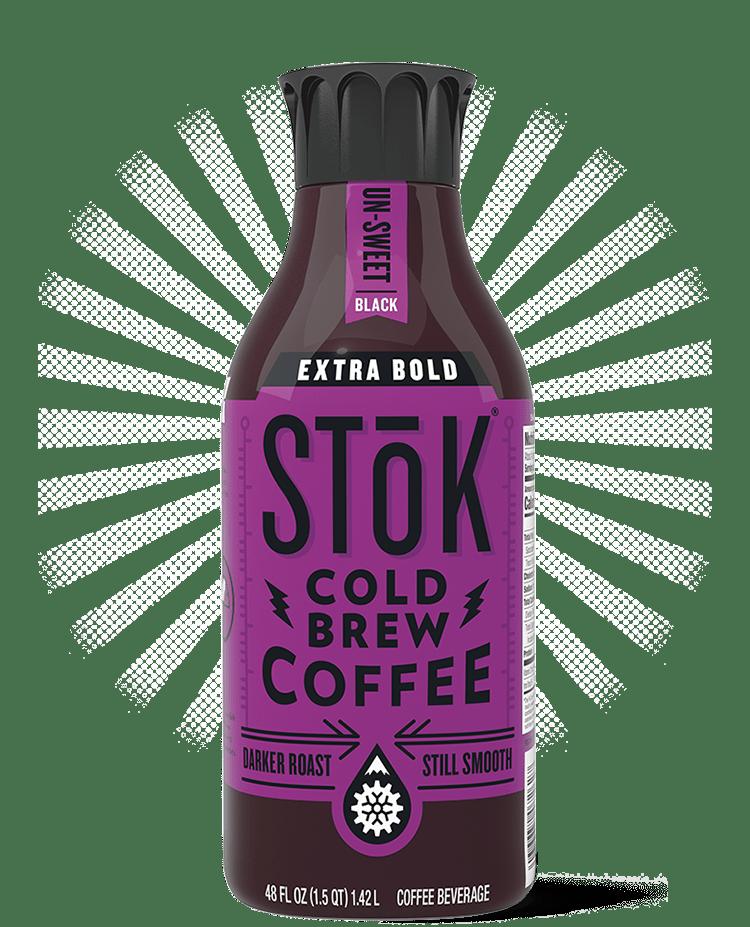 Stok unsweet extra bold cold brew coffee 48oz