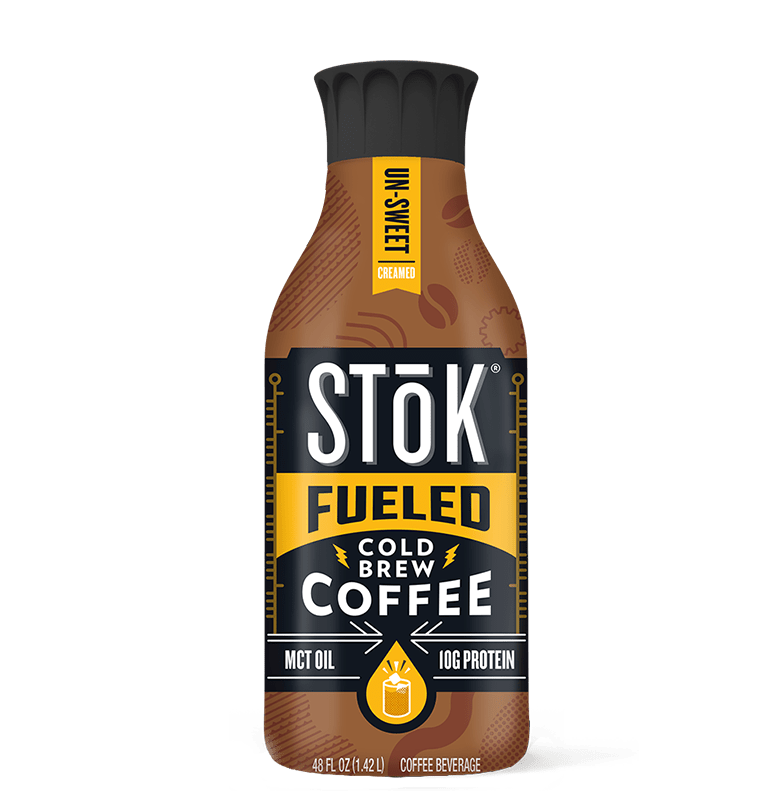 STōK Unsweetened protein Coffee Creamer with Protein and MCT Oil