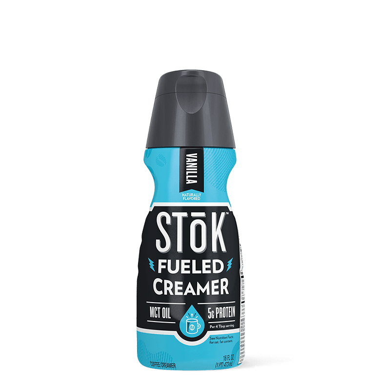 STōK Fueled Vanilla Coffee Creamer with Protein and MCT Oil